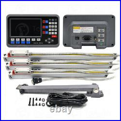 2Axis/3Axis Digital Readout DRO Large LCD Readout Scale for Bridgeport Mill Lath