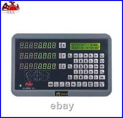 2Axis/3Axis Digital Readout Linear Glass Scale DRO Display Kit Milling Lathe GCS