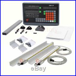 2Axis Digital Readout 1um TTL Linear Glass Scale 500&1500MM DRO Display Milling