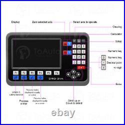 2Axis LCD Digital Readout Linear Scale 300&1000mm TTL Encoder Sensor 5m CNC Kit