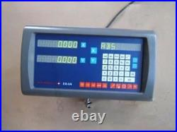2Pcs Easson ES-8A 2-Axis Digital Readout With Linear Scale Complete Dro Kit Y ac