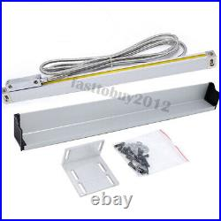 2/3Axis Digital Readout LCD DRO Display Encoders TTL Linear Glass Scale 4''-80'
