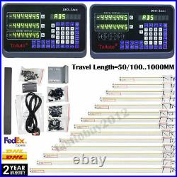 2/3/4/5Axis Digital Readout DRO Display 5µm TTL Linear Glass Scale Mill Lathe