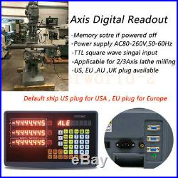 2/3-Achsen-Digitalanzeige-DRO TTL-Linearmaßstab für Fräsmaschinen Drehmaschine