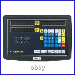 2/3 Axis Grating CNC Milling Digital Readout Display / 50-1000mm Electronic