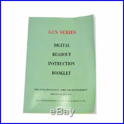 2 AXIS DIGITAL READOUT With 2SCALES TRAVEL 1000250MM HIGH QUALITY GERMANY STOCK