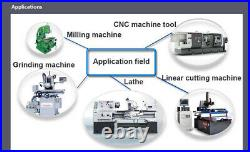 2 Axis DRO Digital Display Readout With Linear Scale Encoder for Milling Lathe