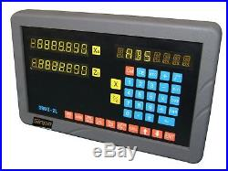 2-axis digital readout (DRO) for lathe (complete kit, UK stocking)