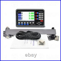 300&650&800MM Linear Scale 5µm 3Axis Digital Readout DRO Display for Milling
