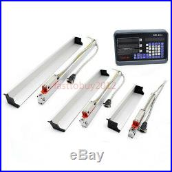 3Axis 500&600&650 Precision Linear Scale 0.0002 Digital Readout DRO Display Set