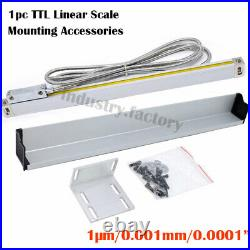 3Axis DRO Digital Readout LCD Display TTL Linear Scale 150mm+200mm+300mm/5m