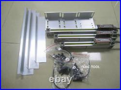 3Axis DRO Digital Readout for Milling Lathe EDM Machine+3pcs Linear Glass Scales