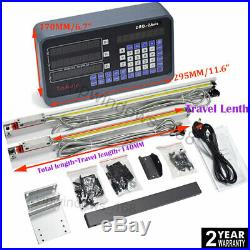3Axis DRO Digital Readout for Milling Lathe Machine +3pcs Linear Glass Scales
