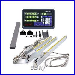 3Axis Digital Readout DRO for Milling +3pc Procision Linear Scale 450&500&1000MM