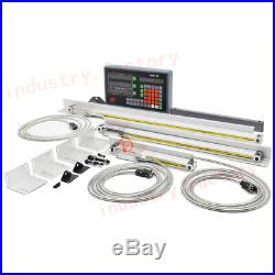 3Axis Digital Readout Linear Glass Scale DRO Display 100&500&1000MM Accessories