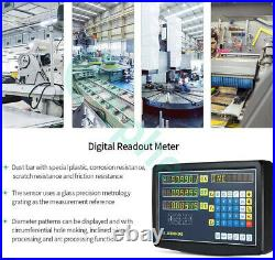 3 Axis DRO Digital Readout Linear Scale For Milling Lathe Machine High Precision