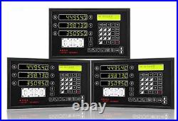 3 Axis Digital Readout DRO for Milling Lathe Machine & Procision Linear Scale