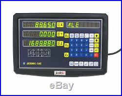 3 Axis Digital Readout Display Milling Lathe Machine Precision Linear Scale EMD