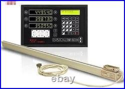 3 Axis Digital Readout Dro For Milling Lathe Machine With Precision Linear Sc uk