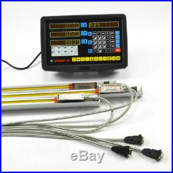 3 Axis Digital Readout Dro Kit For Mill Milling Lathe Machine With Linear Scales