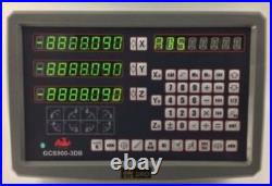 3 Axis Dro Digital Readout For Milling Lathe Machine New tg