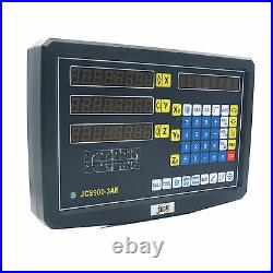 3-Axis Readout Digital Display Meter with Linear Scale for Milling Lathe Machine