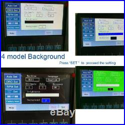 4 Axis LCD Digital Readout with IP67 4 Pcs Magnetic Scale (50-1100mm) Unit