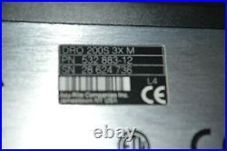 ACU-RITE DRO 200s 3X M axis digital readout, display in box