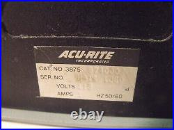 Acu Rite 3875 974000 Acu-Rite III 2-Axis Digital Readout