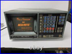 Acu-rite 4-axis digital readout (DRO) for mill