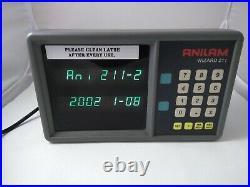 Anilam Wizard 211 2-Axis Digital Readout Part #A221200