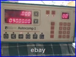Autocomp I Digital Readout DRO 2 Axis