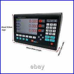 Cozyel 3 Axis Digital Readout DRO LCD Display Meter for Bridgeport Milling La
