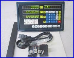 Digital 3 Axis With Procision Linear Scale Readout Dro For Milling Lathe Mach vf