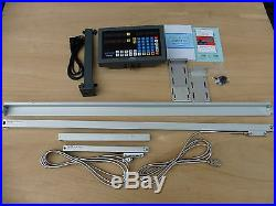 Digital Read Out System Kit for lathe. 2-Axis fit 16,17,18,19,20x40 lathes
