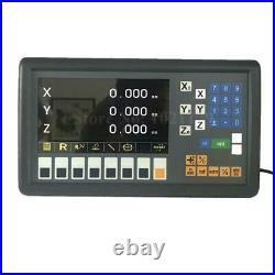 Easson ES-12C 3 Axis Digital Readout 110V 220V Milling Lathe 3 DRO Free Shipping