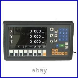 Easson ES-12C 3 axis digital readout 110V 220V milling lathe 3 axis DRO Display