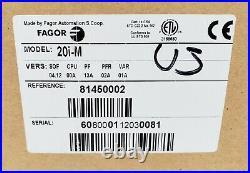 Fagor 20i-M Digital Readout 2-Axis DRO Display 81450002, New