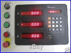 HEIDENHAIN VRZ-753-B Digital Readout 3 Axis HEIDENHAIN 176269 A Readout