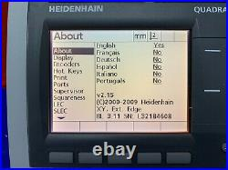 Heidenhain Quadra-Chek ND 1102 2 Axis Digital Readout