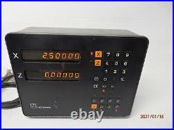 Heidenhain VRZ 730 2 Axis DRO Digital Readout Fully Working