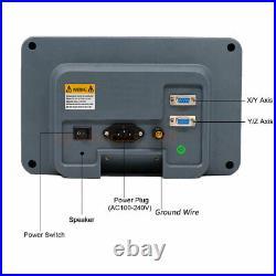 Linear Scale 2/3/4Axis Digital Readout DRO Display Glass Sensor Bridgeport Mill