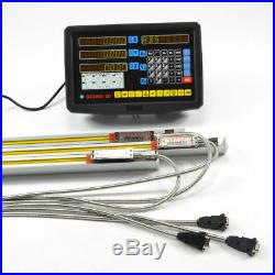 MILL Lathe 3axis Digital Readout Dro Display Console And 3 Linear Scale Travel