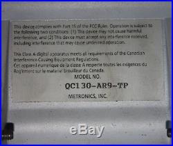 Metronics QC-100 QUADRA-CHEK 100 3-Axis Digital Readout Evaluation Electronics
