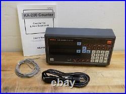 Mitutoyo Digital Readout DRO Display 2-Axis KA Counter 174-183A Parts/Repair