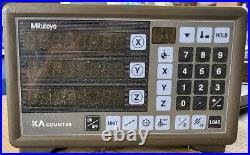 Mitutoyo KA 13 174-175 3 Axis Digital Readout Display