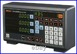 Mitutoyo KA-213 3 Axis Linear Scale Counter Digital Readout Display Console