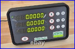 NEW Hiwin PMED-S3-3 DRO 3-Axis Digital Readout Display Linear Scale CNC Router