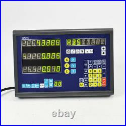 Precision Dro Kits 3 Axis Digital Readout Milling Lathe Machine Ttl Linear Scale