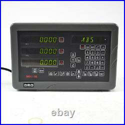 SINPO 3 Axis DRO Digital Readout Display Console & 3 Linear Scales Milling/Lathe